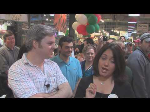 "Opera Company of Philadelphia ""Flash Brindisi"" at Reading Terminal Market (April 24, 2010)"